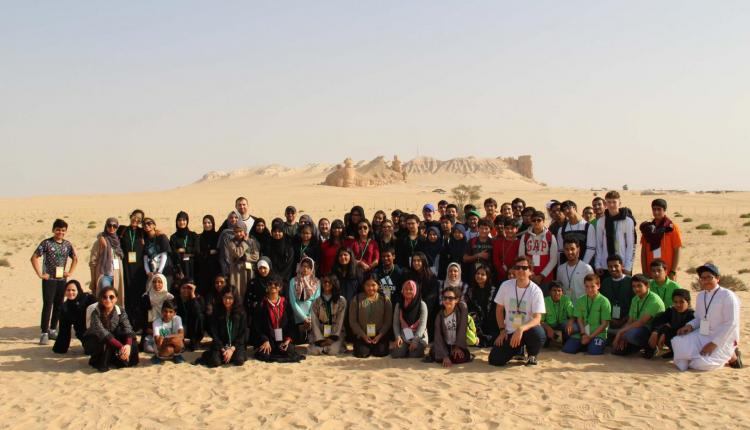 Jubail students' WoW excursion to Al-Ahsa